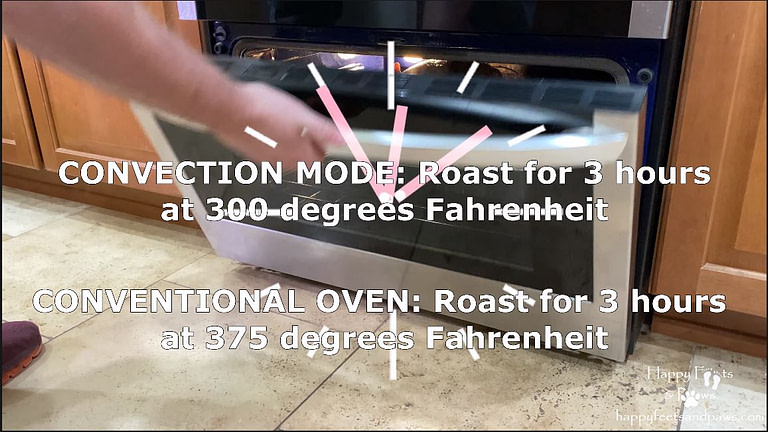 preheat oven instructions for turkey